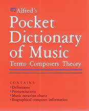 Best alfred's pocket dictionary of music Reviews