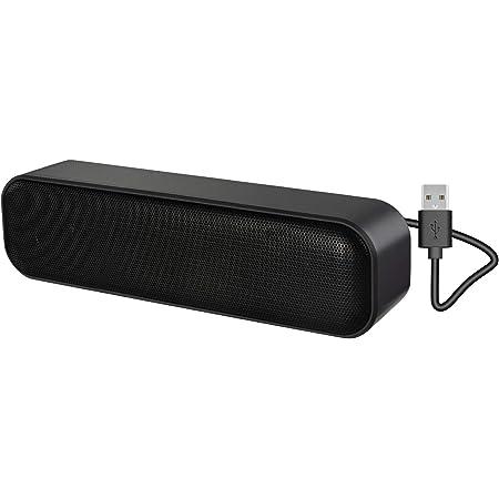 Computer Speaker,USB Powered USB Speaker for Desktop,Windows PCs,Laptop. Portable USB Desktop Speaker Plug and Play
