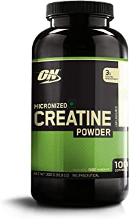 Optimum Nutrition Micronized Creatine Monohydrate Powder, Unflavored, Keto Friendly, 10.6 Ounce (Packaging May Vary)