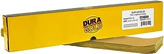 Dura-Gold - Premium - 120 Grit Gold - Pre-Cut Longboard Sheets 2-3/4