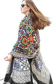 DANA XU Wool Women Large Scarf Pashmina Shawls and Wraps Fleece Shawl