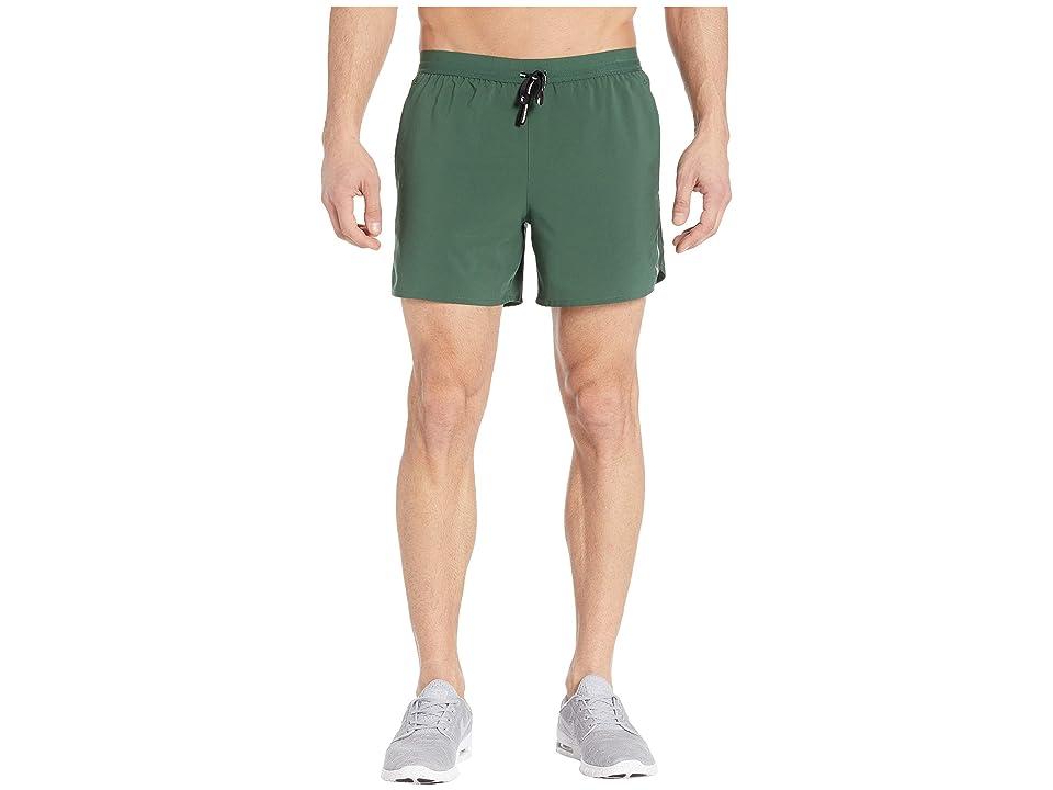 Nike Flex Stride Shorts 5 BF (Fir/Metallic Silver) Men