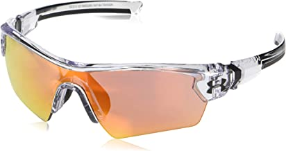 Under Armour Unisex-Youth Menace 8650095-140144 Shield Sunglasses, Clear, 122 mm