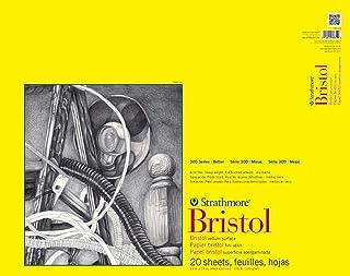Pro-Art-Bilderpalette Strathmore Bristol Papier vélin Papier Pad 48cm x 61cm, 20Feuilles