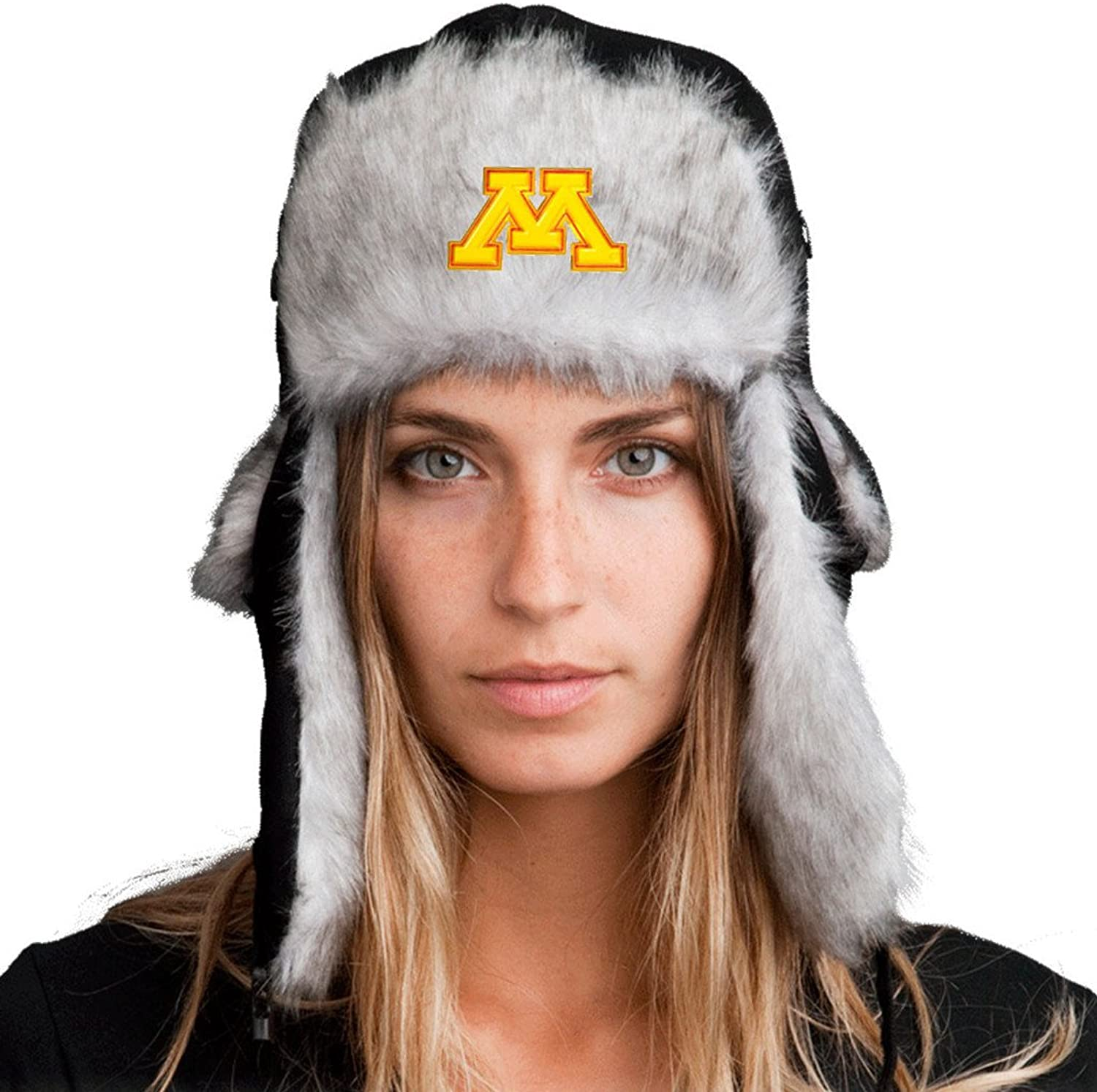 Bomber Hat + Licensed Minnesota Gophers Pin Included