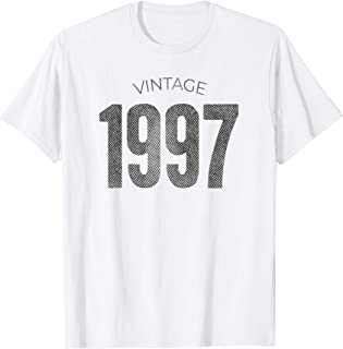 Vintage Made In 1997 T-Shirt 22nd Birthday Gift