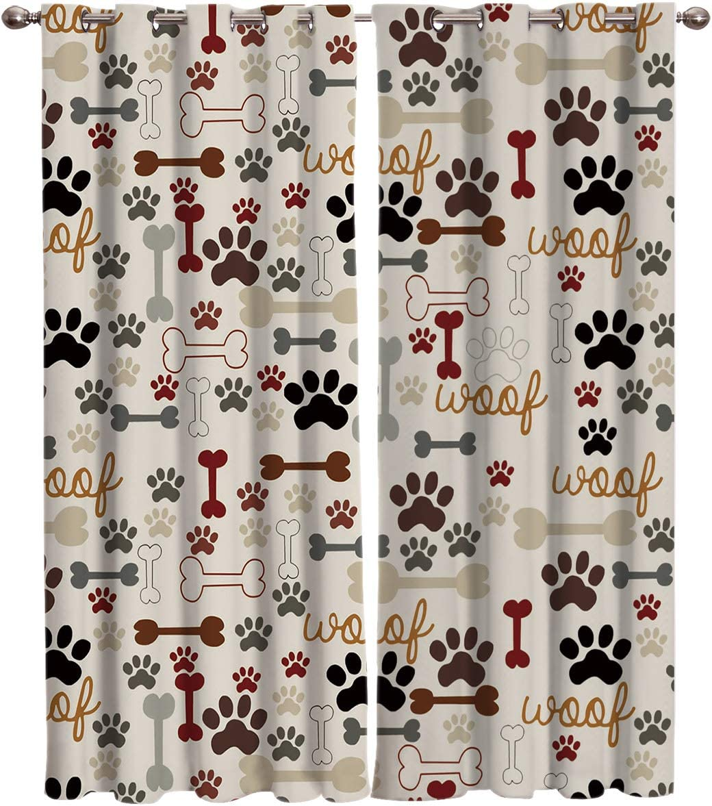 TH Home Draperies Curtains San Antonio Beauty products Mall Cutly Dog for Windo Pug Lover Pet