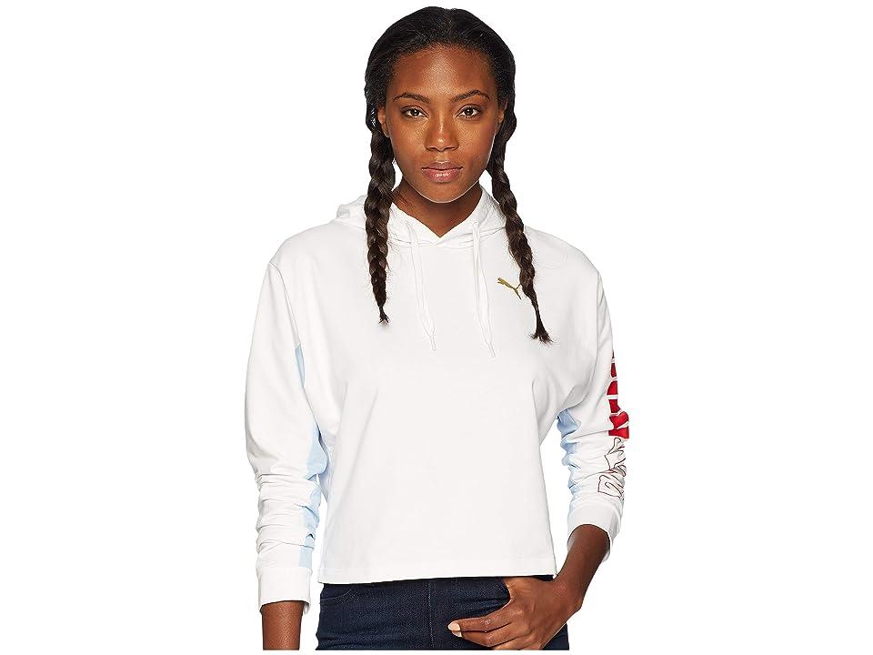 PUMA Modern Sport Hoodie (White) Women