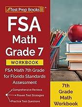 FSA Math Grade 7 Workbook: FSA Math 7th Grade for Florida Standards Assessment [7th Grade Math Workbook]