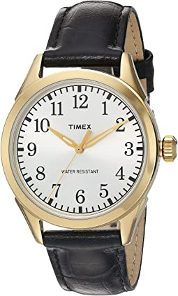 Timex - Briarwood Terrace Croco Pattern Leather Strap