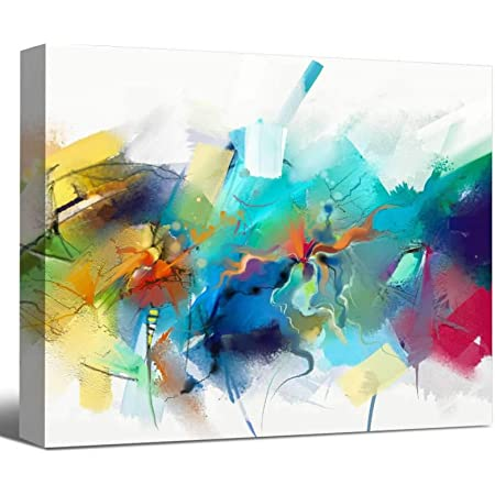 PAINTING WORLD Abstract Modern PRINT Canvas Wall Art Picture  AB528 UNFRAMED
