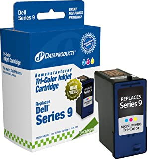 Dataproducts DPCMK991 Remanufactured High Yield Ink Cartridge Replacement for Dell MK991/MK993 (Tri-Color)