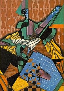Juan Gris: Violin and Checkerboard. Fine Art Print/Poster. Size A1 (84.1cm x 59.4cm)