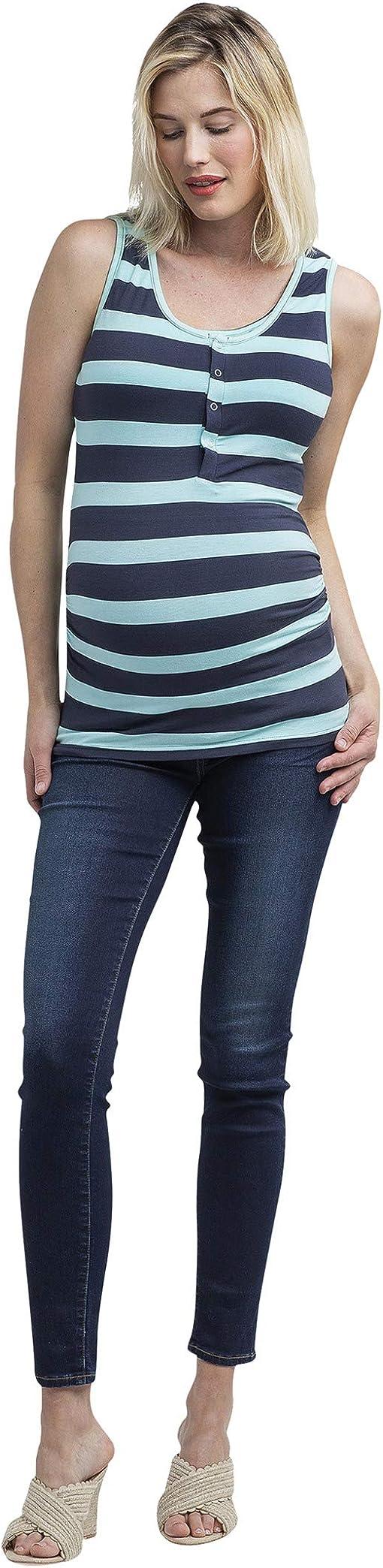 Mint/Slate Stripe
