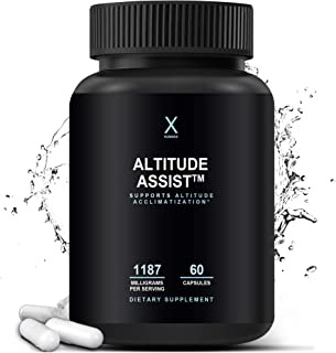 Altitude Assist – Altitude Acclimatization Supplement For High Altitude Mountain Sports (Skiing, Snowboarding, Hiking, Cli...