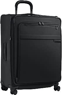 Briggs & Riley Luggage Baseline Expandable Spinner, Black, Large