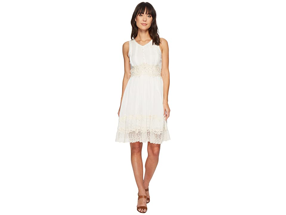 Scully Elma Lace Dress (Ivory) Women