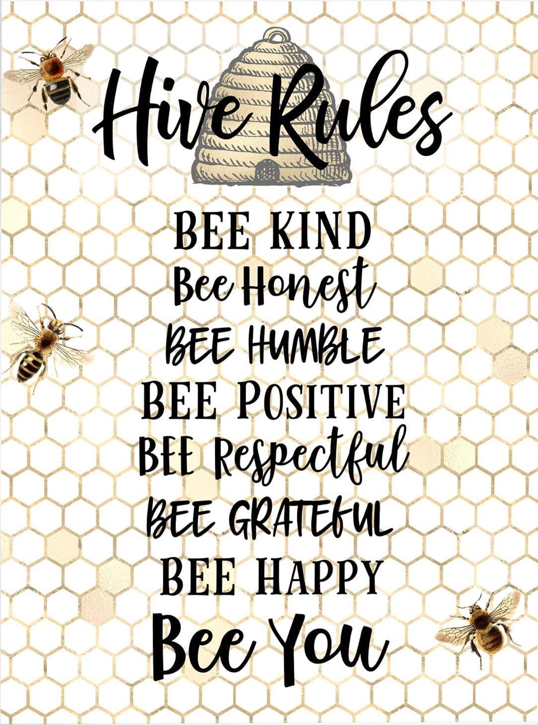 Very popular Eeypy Honey Bee Decor Bumble Sign Kind All stores are sold Classroom Ar Be