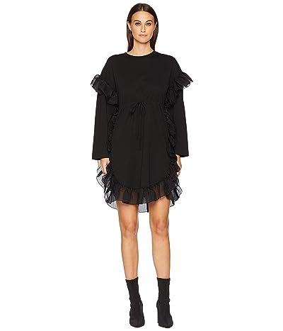 See by Chloe Drawstring Tie Dress (Black) Women