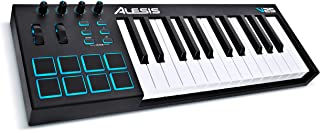 Alesis V25 | 25 Key USB MIDI Keyboard Controller with Backli