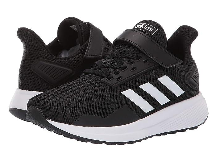 adidas Kids  Duramo 9 (Little Kid) (Black/White) Boys Shoes