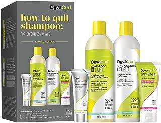 (For Effort) - DevaCurl How To Quit Shampoo Kit for Effortless Waves