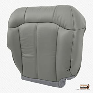 US Auto Nation Chevy Tahoe Passenger Bottom Vinyl Replacement Seat Cover Gray