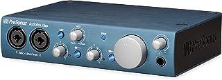 واجهة أوديو بوكس آي تو 2 × 2 يو إس بي 2.0 / آي أو إس، جهاز الكمبيوتر الشخصي / ماك 2 ميكروفون بريس.