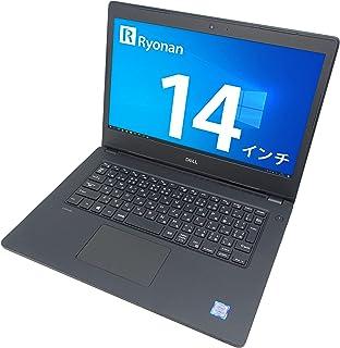 DELL Latitude 3480 14インチ ノートパソコン 第6世代 Core i3 メモリ:16GB SSD:256GB Win10 Office カメラ HDMI VGA USB3.0 Wi-Fi VGA (整備済み品)