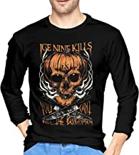 Aervllry Ice Nine Kills Leisure Men's Long Sleeve T-Shirts Black