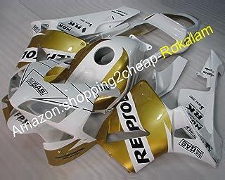 Venta caliente, posventa para CBR600RR F5 2003 2004 CBR 600 RR 03 04 amarillo Repsol Moto carenado (moldeo por inyección)