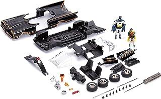 Jada Toys 253213000 Batman 1966 Classic Batmobile Build+Collect Die-cast Construction Kit, 1:24 Scale Toy Car Including Ba...