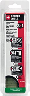 PORTER-CABLE NS18Pp 18 Gauge Narrow Crown Staple Project Pack, 900 Count, Various Sizes