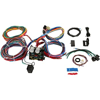 amazon.com: mophorn wiring harness kit 12 circuit hot rod universal wiring  harness muscle car street rod xl wires: automotive  amazon.com