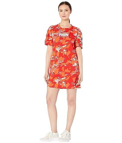 PUMA Camo Pack AOP Dress (Peach Bud) Women