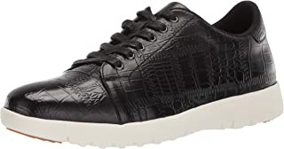 Stacy Adams Mens Halcyon Exotic-Print Cap-Toe Lace-up Sneaker