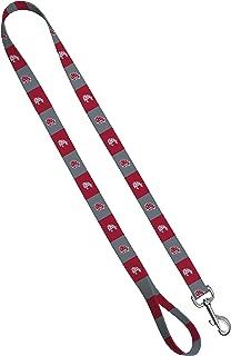 Moose Pet Wear Dog Leash – Washington State University Cougars Pet Leash, Made in the USA – 1 Inch Wide x 4 Feet Long