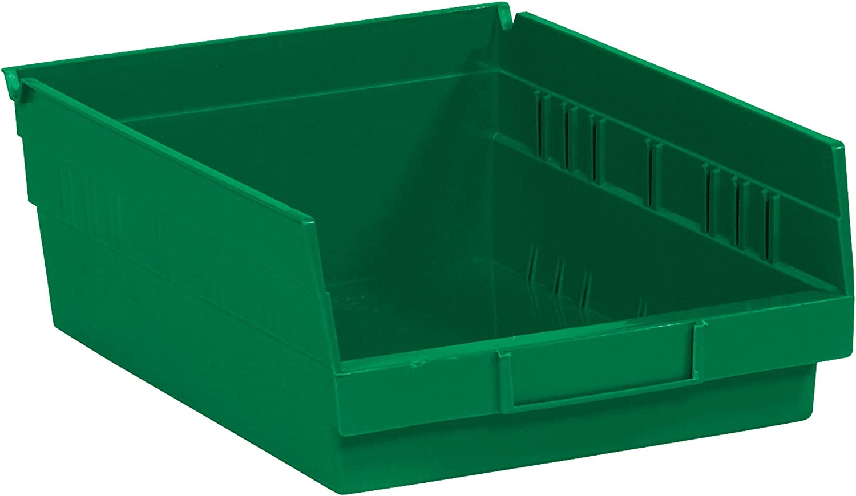 Poly Bag Guy Plastic Shelf Bin Boxes 11 3 Gre 5 OFFicial mail order 4