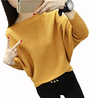 Best womens yellow pullover sweater Reviews