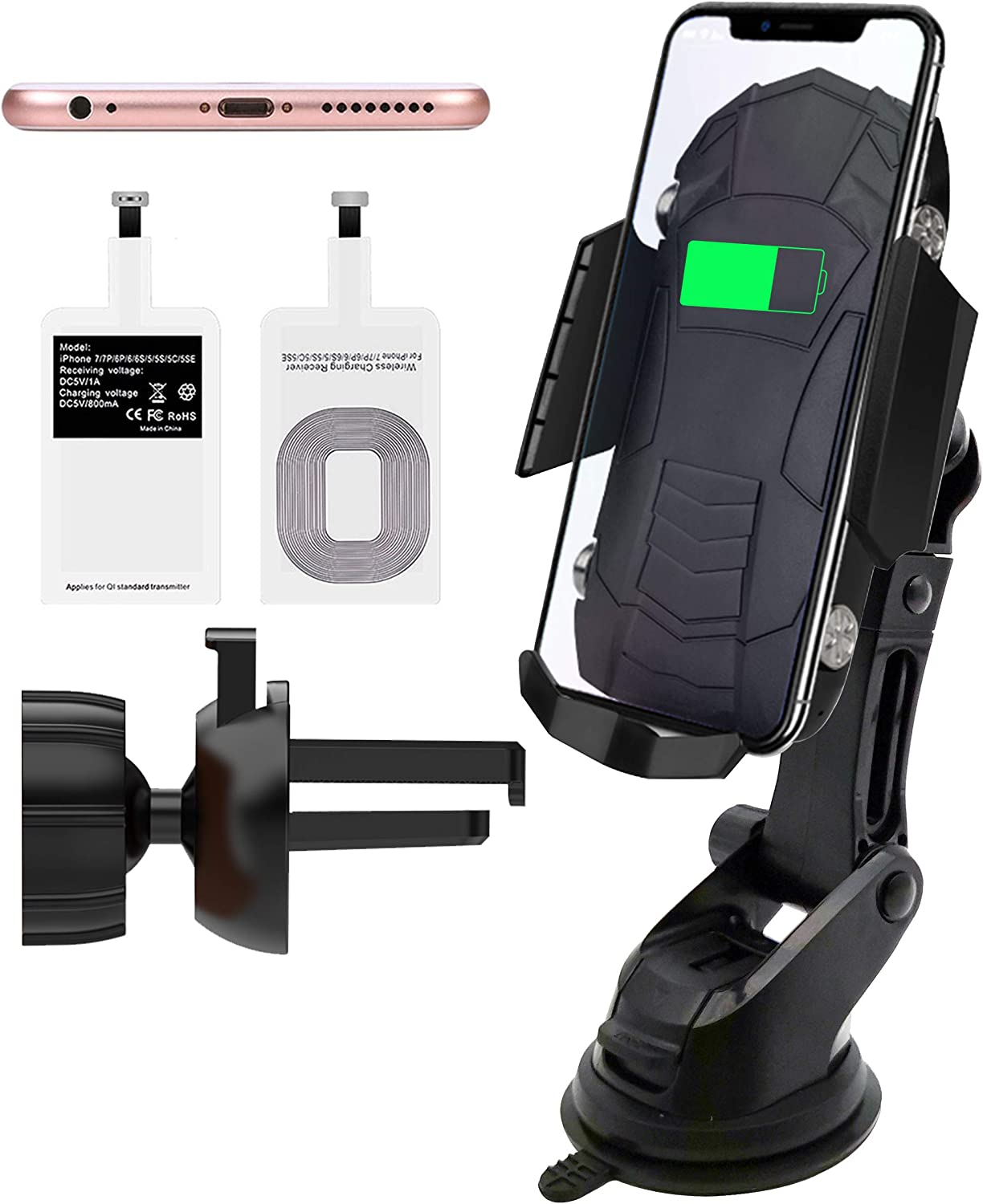 gaixample.org Wireless Car Charger for Wireless Fast Charging of ...