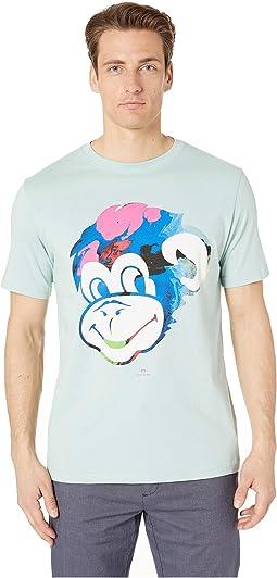 Monkey Print T-Shirt