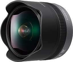 PANASONIC LUMIX G FISHEYE Lens, 8MM, F3.5, MIRRORLESS Micro Four Thirds, H-F008 (USA Black)
