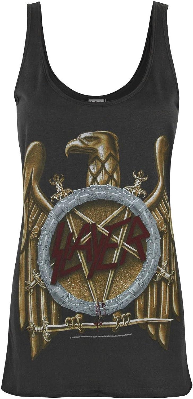 Amplified Slayer Eagle Logo Women's Vest