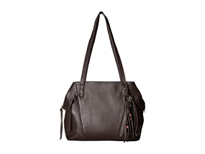 The Sak Paramount Satchel (Cocoa) Satchel Handbags