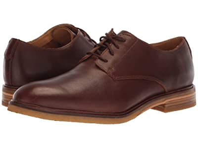 Clarks Clarkdale Moon (Dark Tan Leather 2) Men