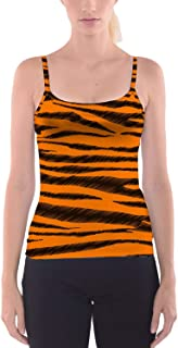 Rainbow Rules Tigger Stripes Winnie The Pooh Inspired Camisole Spaghetti Strap Tank Top