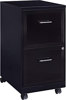 File cabinet Small Filing Cabinet 5 Drawer Desktop Data Storage Storage Box Black27X36X26cm Office Supplies