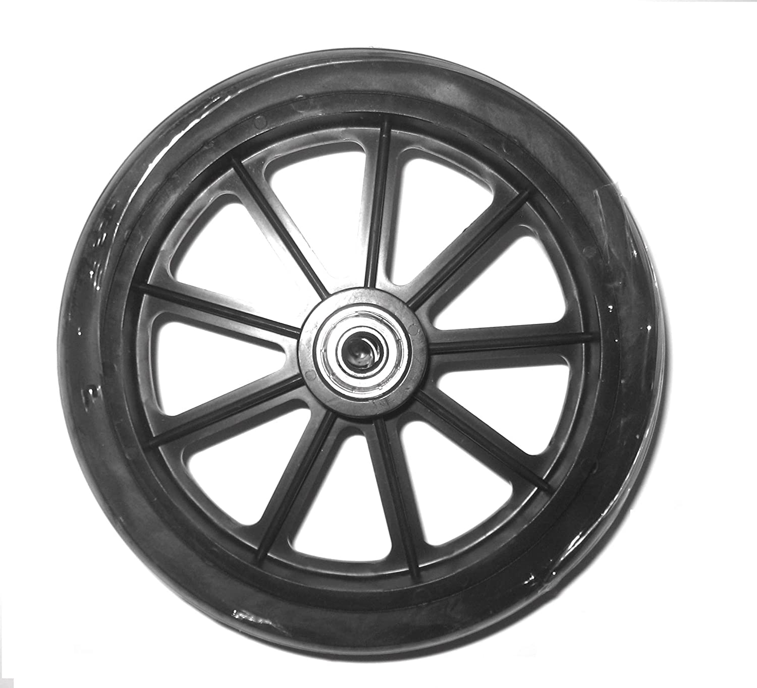 Roscoe Replacement Wheel 6 Inch with Super beauty product restock quality top Max 87% OFF Black Whe 9 - Bearing Spoke