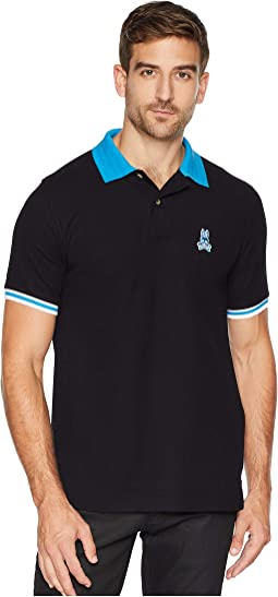 Stripped Collar Polo