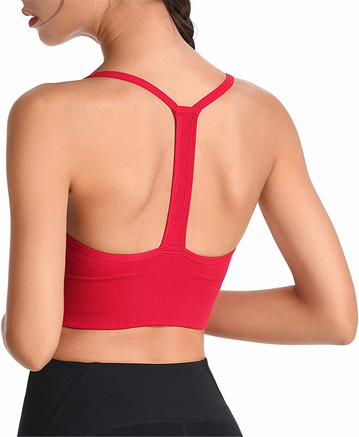 Women Bras, Women's Quick Dry Camisole Cami Tops Running Fitness Underwear Tees Shirt Basic Solid Cropper Tanks